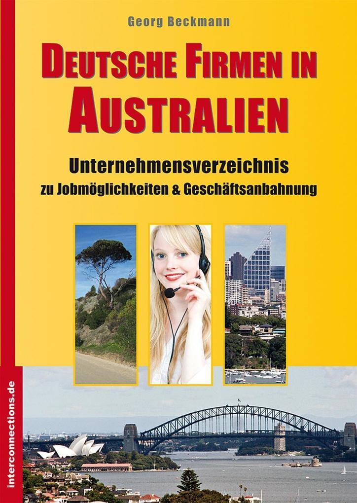 Deutsche Firmen in Australien als eBook Downloa...