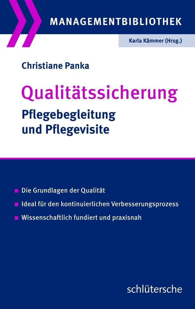 Qualitätssicherung als Buch von Christiane Panka