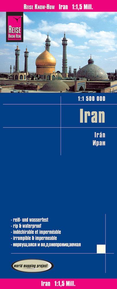 Reise Know-How Landkarte Iran 1 : 1.500.000 als...