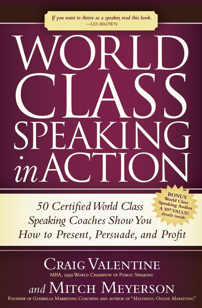 World Class Speaking in Action als eBook Downlo...