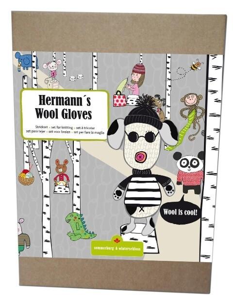 Hermanns Wool Gloves schwarz