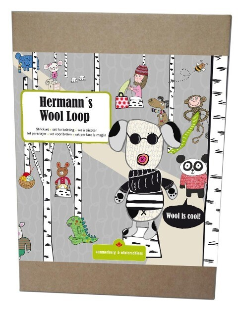 Hermanns Wool Loop schwarz