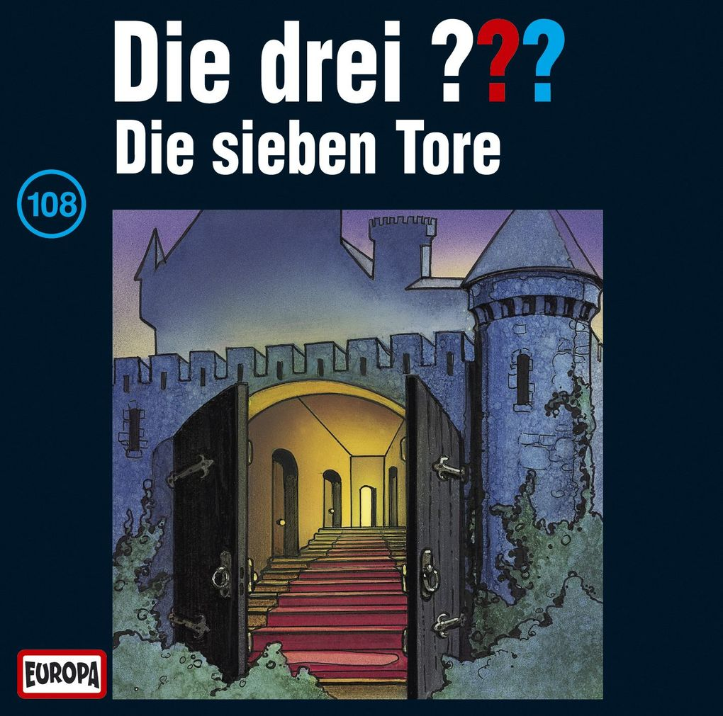 Die drei ??? 108. Die sieben Tore (drei Fragezeichen) CD als Hörbuch
