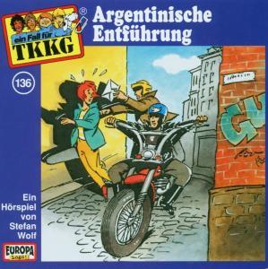 TKKG 136. Argentinische Entführung. CD als Hörbuch