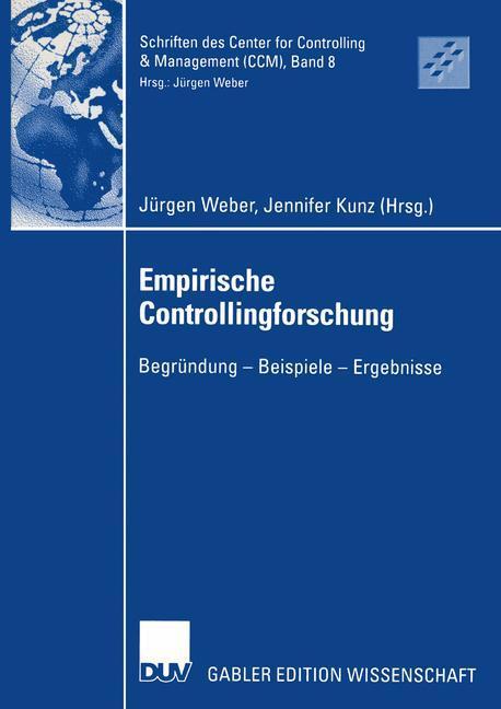 Empirische Controllingforschung als Buch