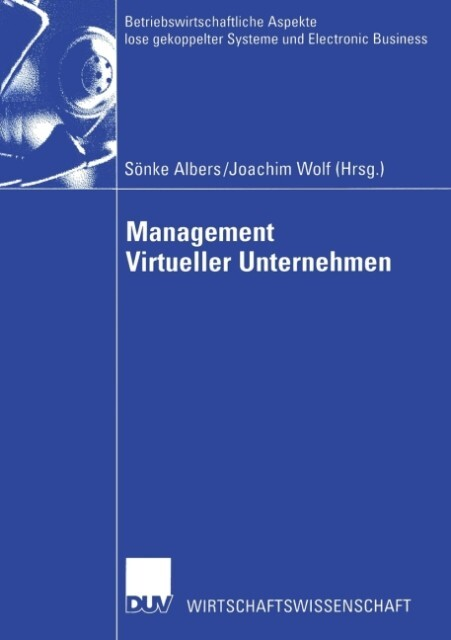 Management Virtueller Unternehmen als Buch