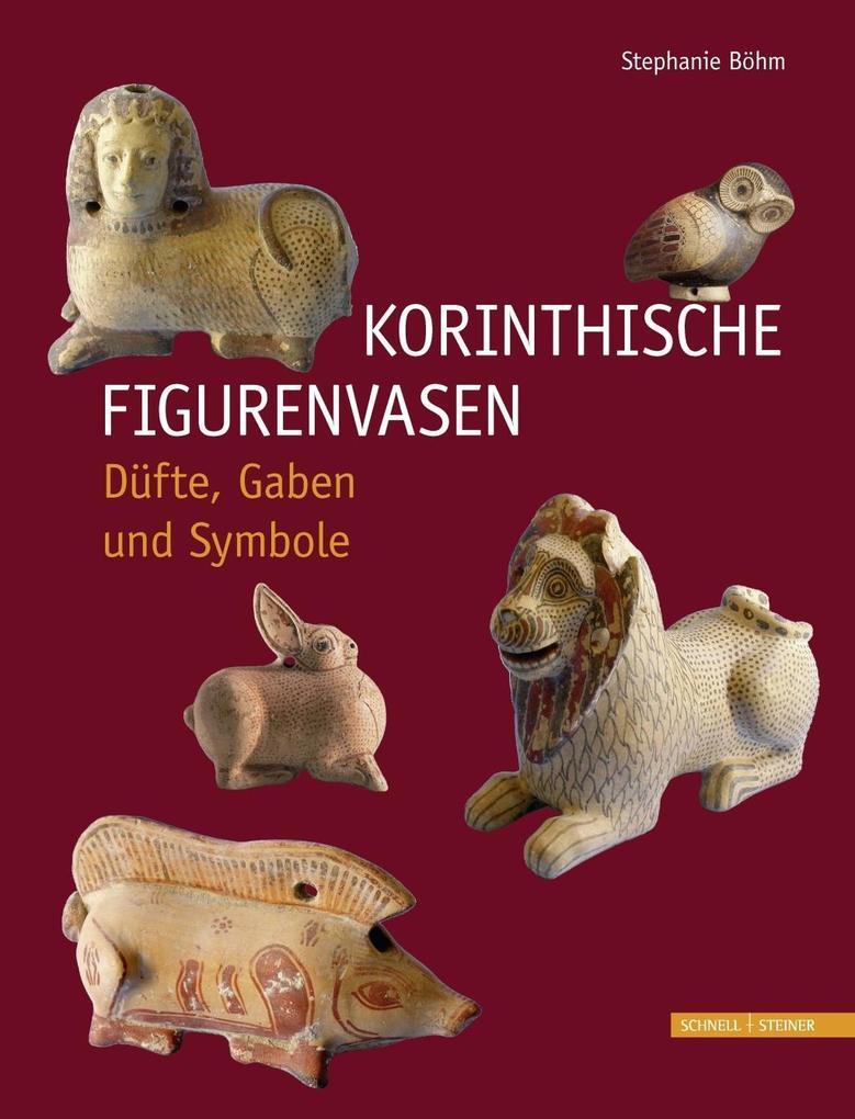 Korinthische Figurenvasen als Buch von Stephani...