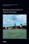 Kulturdenkmäler Hessen. Rheingau-Taunus-Kreis I. Altkreis Rheingau