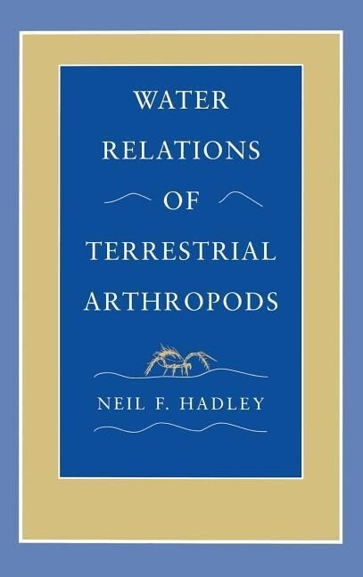Water Relations of Terrestrial Arthropods als Buch