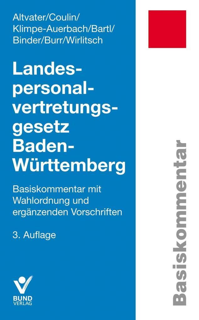 Landespersonalvertretungsgesetz Baden-Württembe...