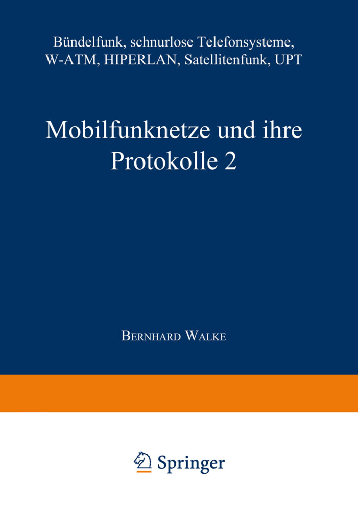 Mobilfunknetze und ihre Protokolle 2 als Buch (kartoniert)