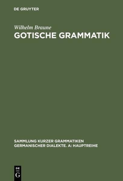 Gotische Grammatik als Buch