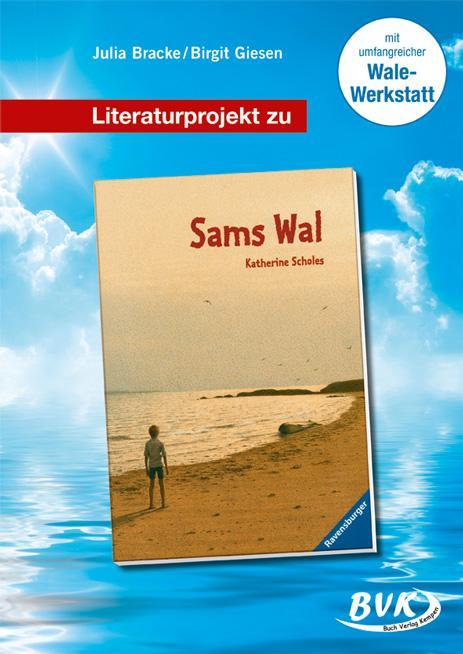 """Literaturprojekt zu """"Sams Wal"""" als Buch"""