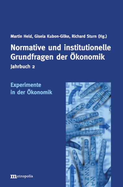 Experimente in der Ökonomik als Buch