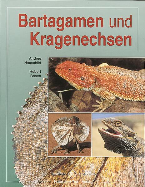 Bartagamen und Kragenechsen als Buch