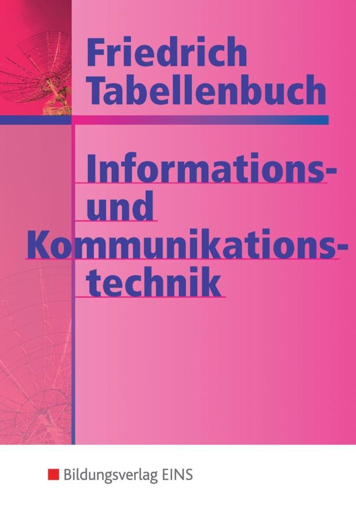 Tabellenbuch Informations- und Kommunikationstechnik als Buch