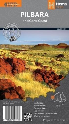 Pilbara & Coral Coast 1 : 1 250 000 als Buch von