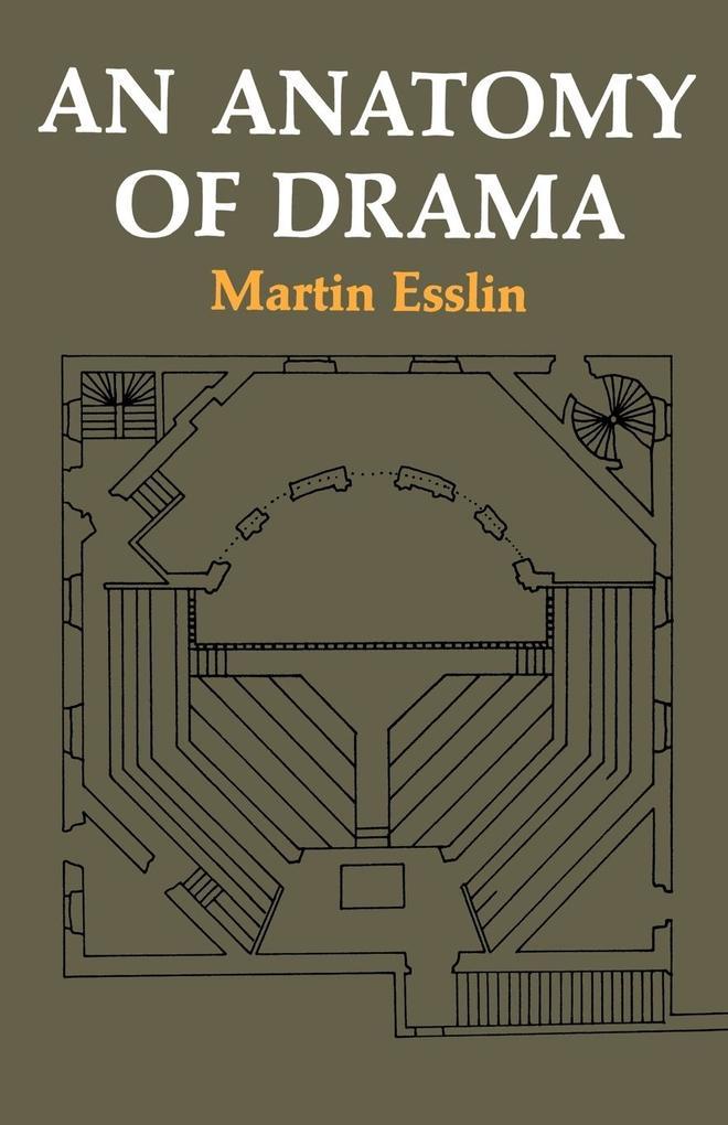 An Anatomy of Drama als Taschenbuch