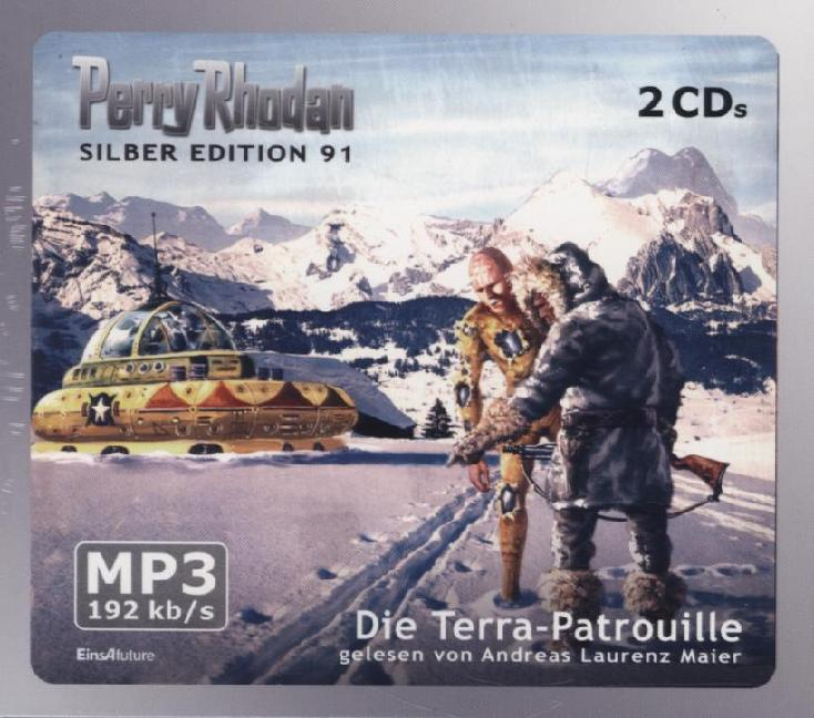 Perry Rhodan Silber Edition 91 - Die Terra-Patr...