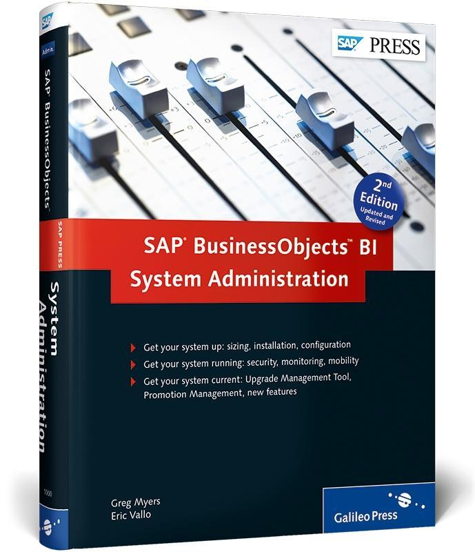 SAP BusinessObjects BI System Administration al...