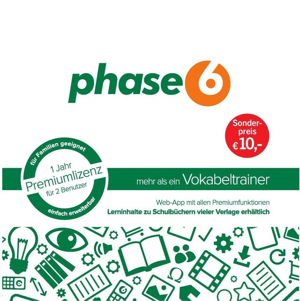 phase6 - mehr als ein Vokabeltrainer. Startpaket