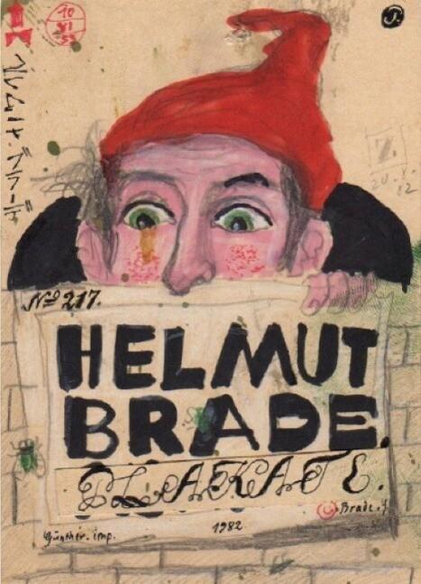 Helmut Brade: Plakate als Buch von Helmut Brade...