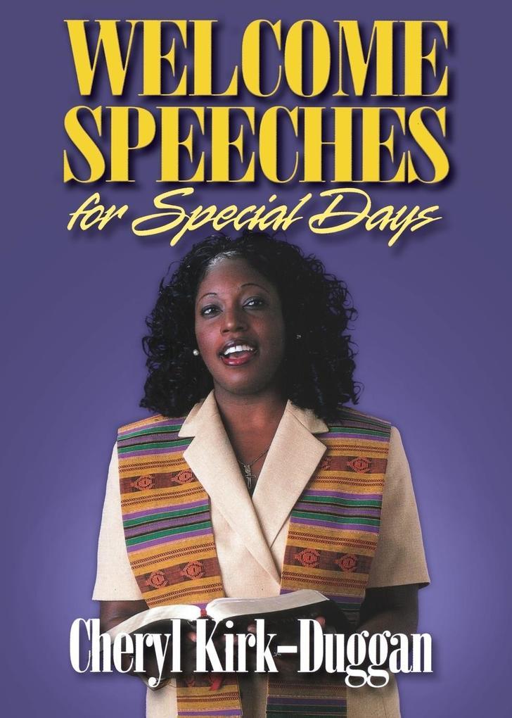 Welcome Speeches for Special Days als Taschenbuch