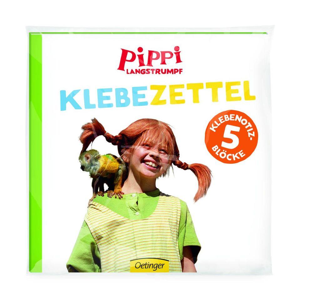 Pippi (Film) Klebezettel