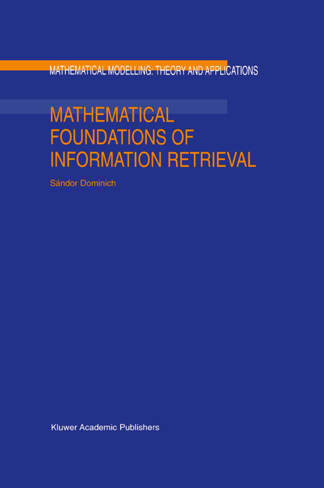 Mathematical Foundations of Information Retrieval als Buch
