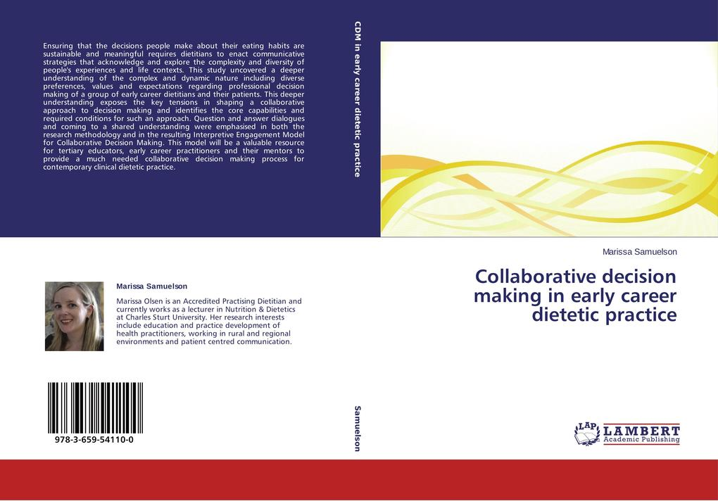 Collaborative decision making in early career d...