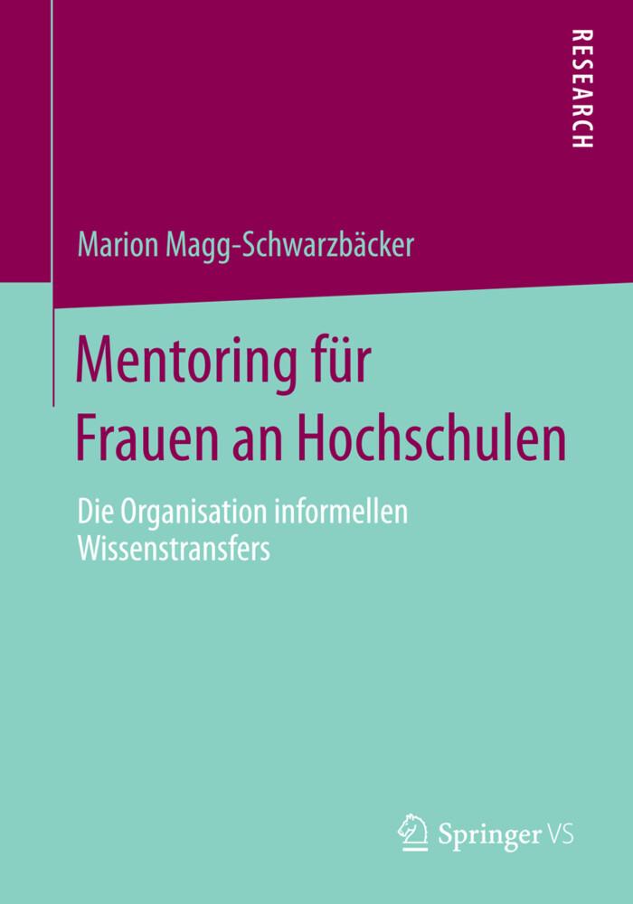 Mentoring für Frauen an Hochschulen als Buch vo...