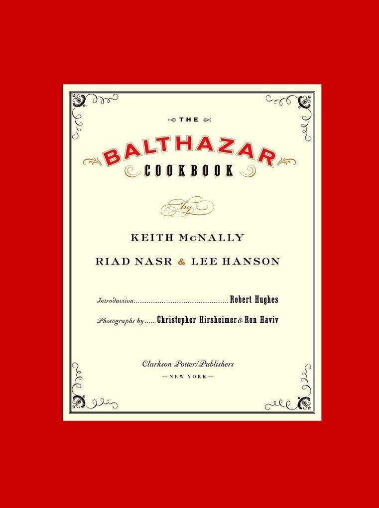 The Balthazar Cookbook als Buch