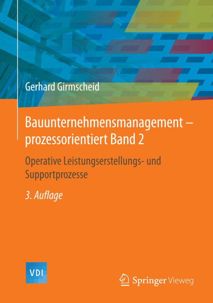 Bauunternehmensmanagement-prozessorientiert Band 2 als Buch (gebunden)