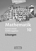Mathematik Sekundarstufe II Sachsen-Anhalt. Einführungsphase. Lösungen