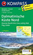 Dalmatinische Küste Nord 1 : 100 000