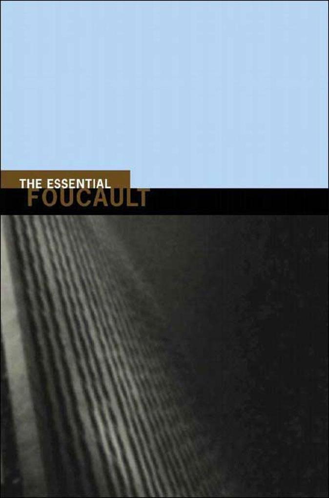 Essential Foucault als Taschenbuch
