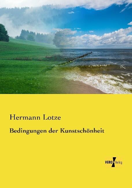 Bedingungen der Kunstschönheit als Buch von Her...