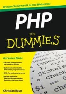 PHP für Dummies als eBook Download von Christia...