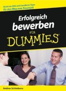Erfolgreich bewerben f r Dummies als eBook Down...