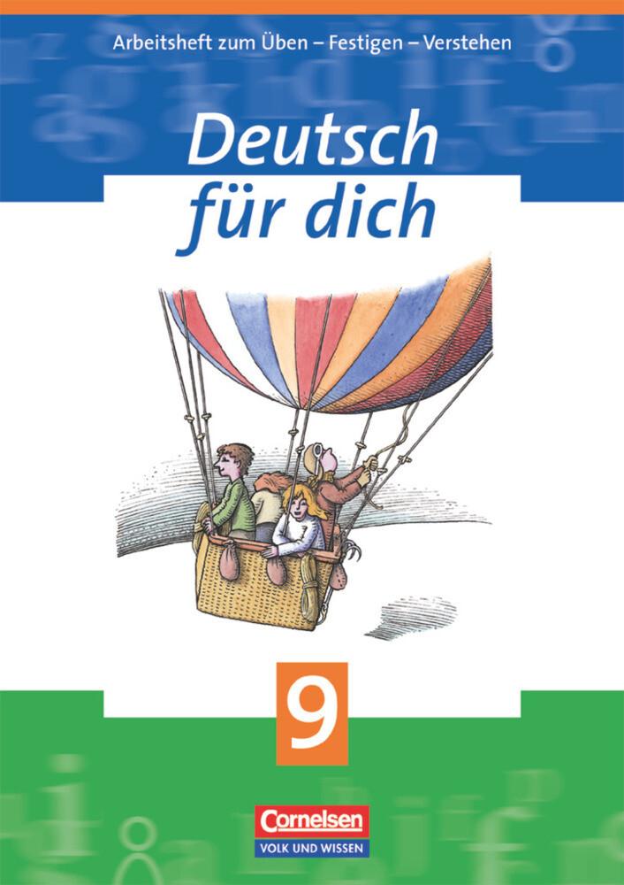 Deutsch für Dich 9. Arbeitsheft. Neue Rechtschreibung als Buch