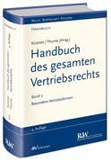 Handbuch des gesamten Vertriebsrechts 3