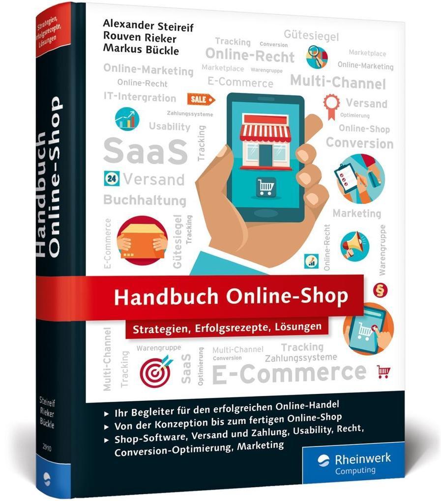 Handbuch Online-Shop als Buch von Alexander Ste...