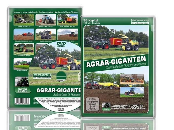 AGRAR-GIGANTEN - Ackerbau und Grasernte
