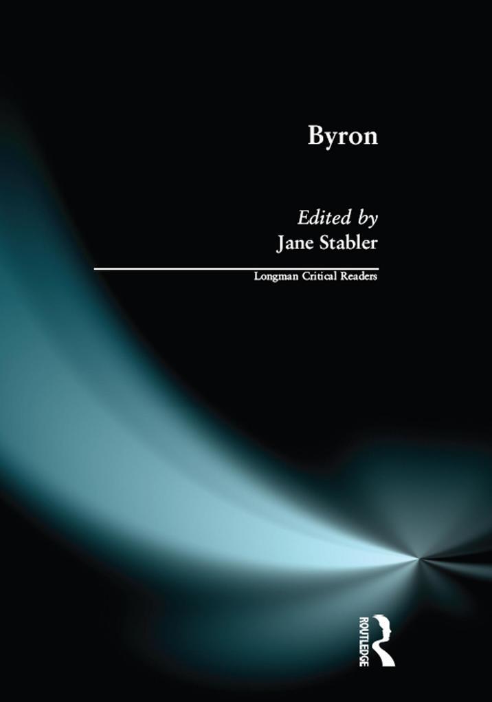 Byron als eBook Download von Jane Stabler