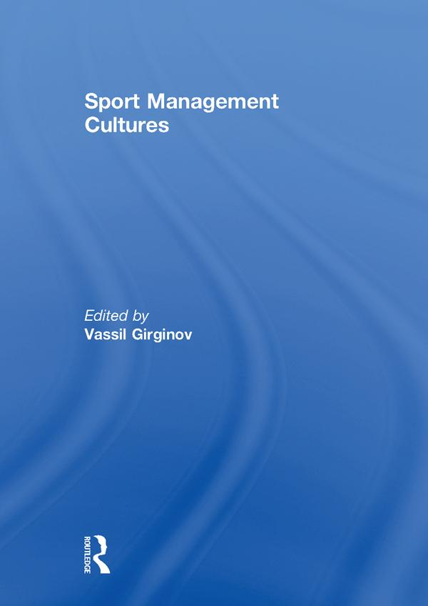 Sport Management Cultures als eBook Download von