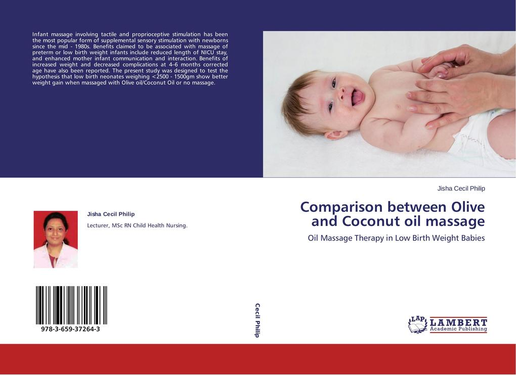 Comparison between Olive and Coconut oil massag...