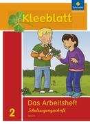 Kleeblatt. Das Sprachbuch 2. Arbeitsheft SAS (Schulausgangsschrift). Bayern