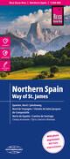 Reise Know-How Landkarte Spanien Nord/Jakobsweg 1 : 350.000