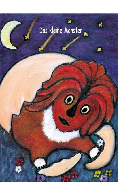 Das kleine Monster als Buch von Gisela Paprotny