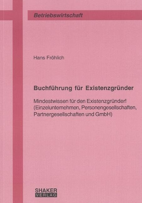 Buchführung für Existenzgründer als Buch von Ha...